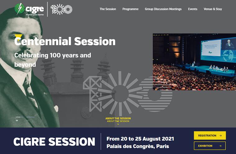 extraordinara CIGRE Centennial Session CIGRE 2021